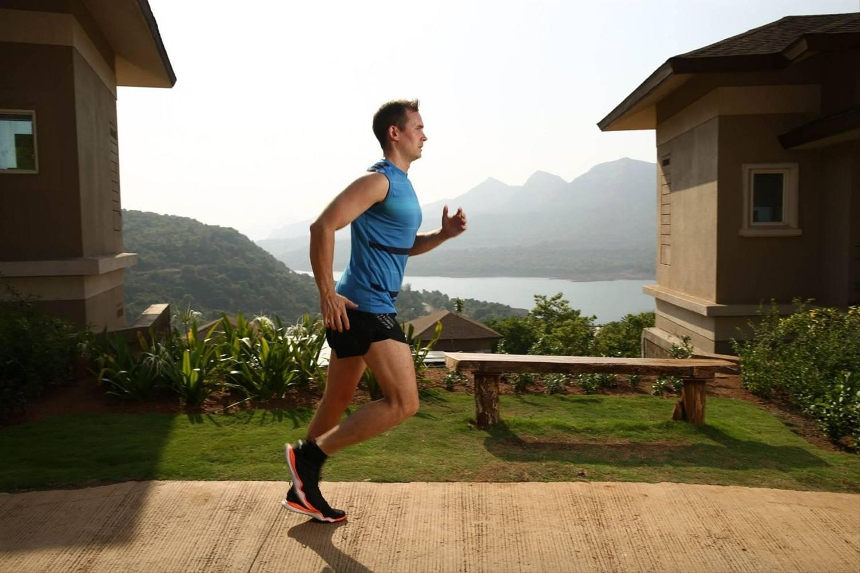 Jogging at Atmantan Wellness Resort
