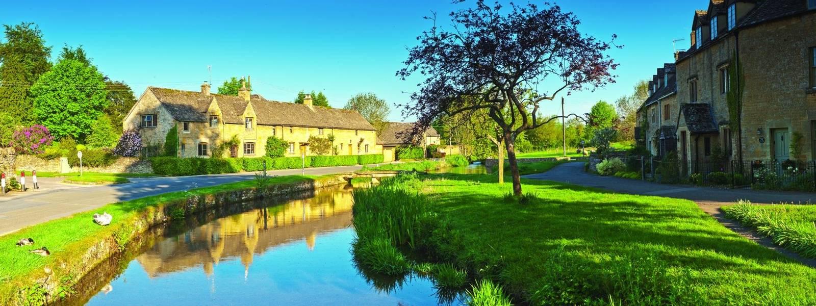 Rural homes, Cotswold, UK