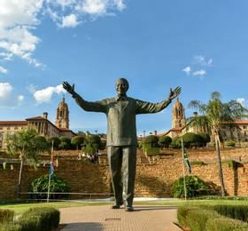 Pretoria - Disembark Blue Train & Hotel Stay