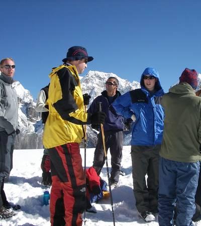 On summit of Goeche La (5,000m)