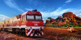 The Ghan Expedition Rail Journey