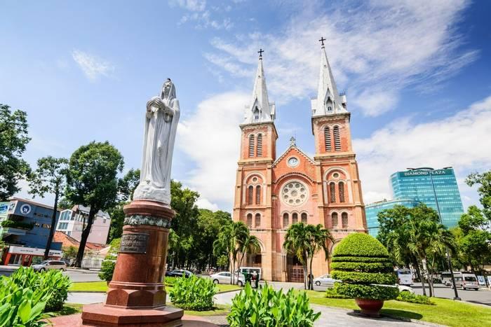 Notre Dame Cathedral, Ho Chi Minh, Vietnam shutterstock_335404100.jpg