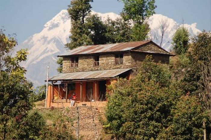 Local house, Pokhara foothills (Thomas Mills)