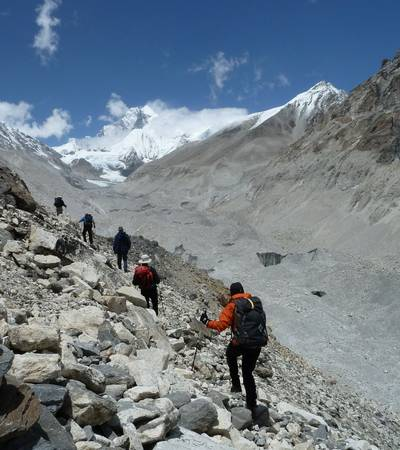 Trail to Sherpani High Camp