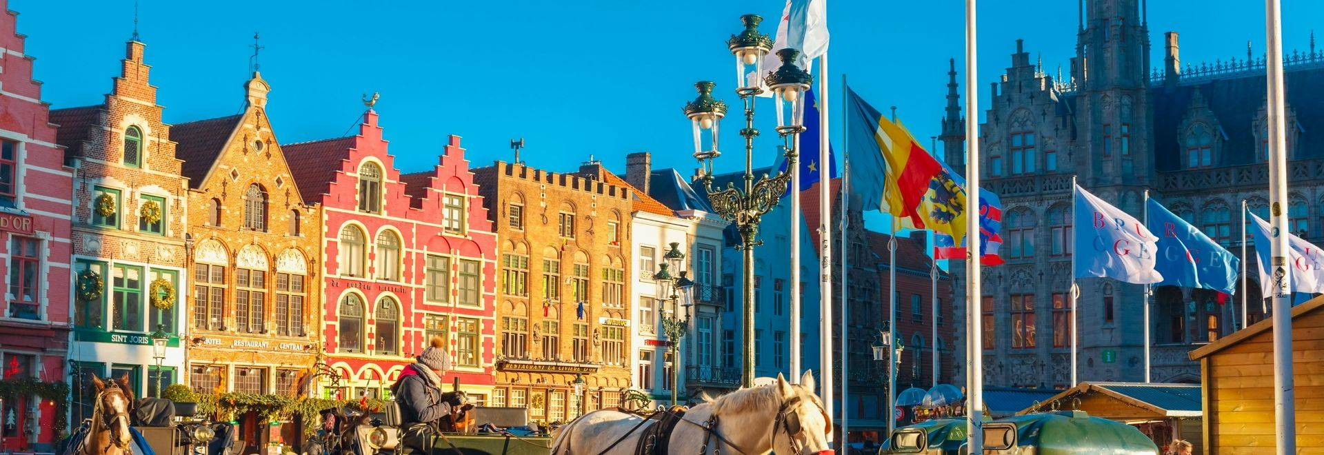 Shutterstock 243626431 Grote Markt Square Of Brugge