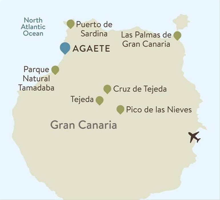 Gran Canaria Itinerary Map