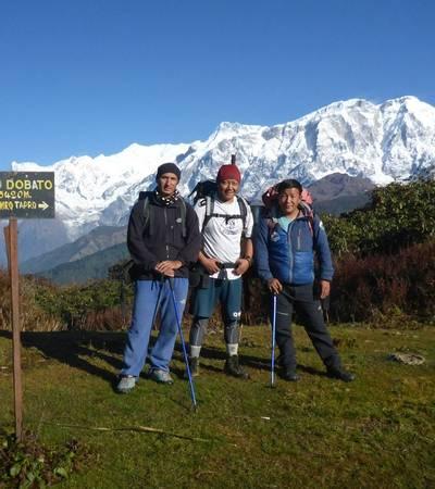 Near camp at Haju Dobato (3,562m)