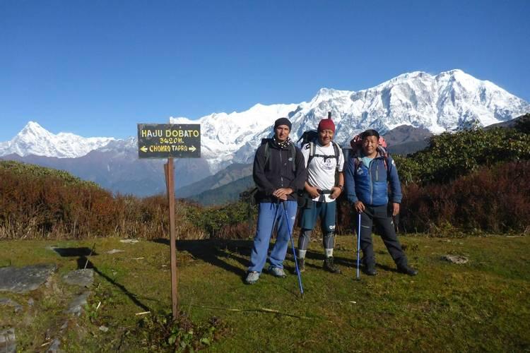 Lamjung Himal trek in Nepal