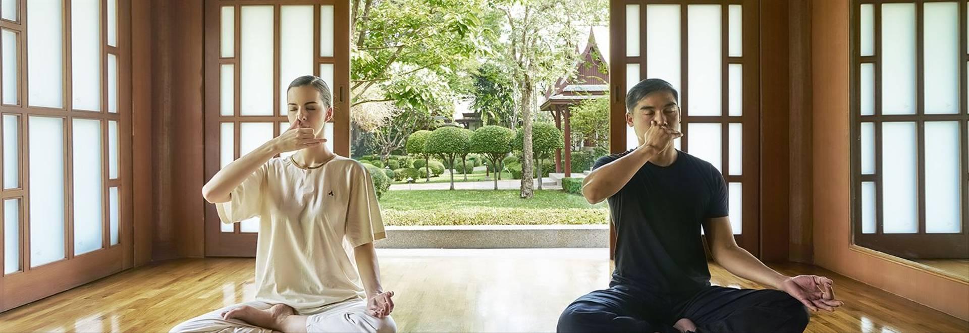 Chiva Som Yoga Pranayama