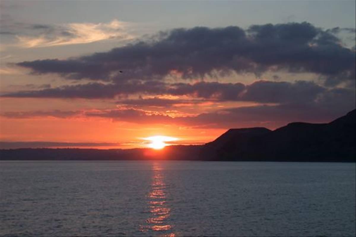 Dorset sunset (Tom Brereton)
