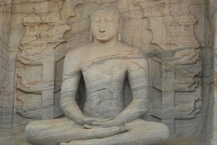 Polonnaruwa Buddha statue (Rajan Jolly)