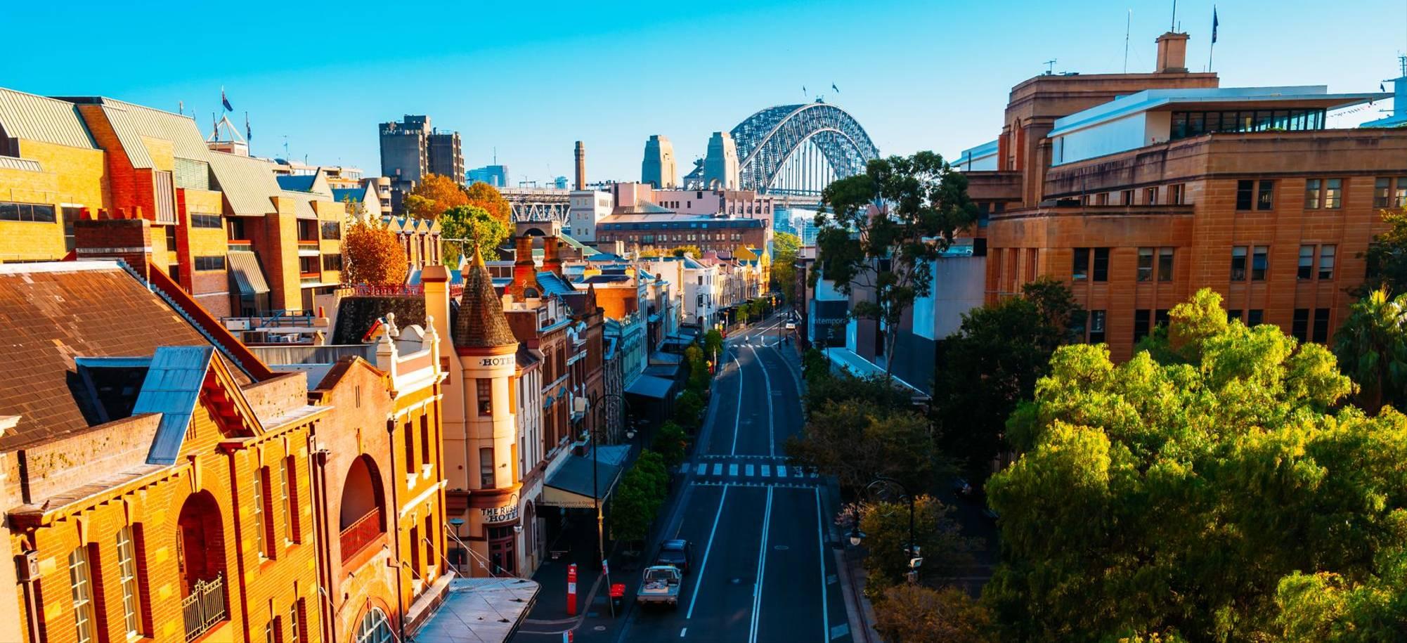 Sydney   The Rocks   Itinerary Desktop