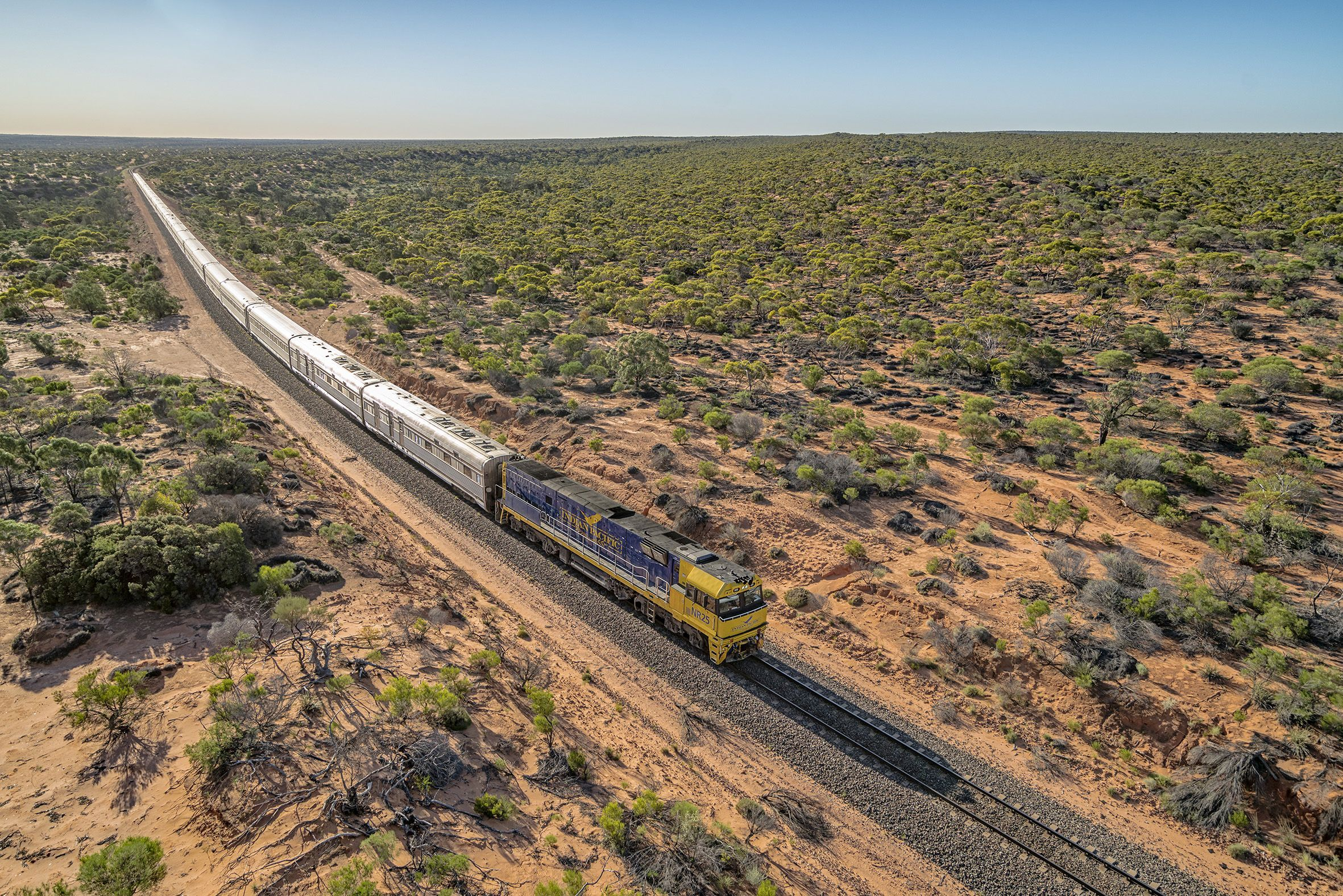 No-Fly Western Australia Coastal Cruise and Indian Pacific Explorer
