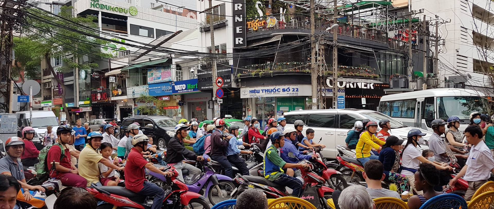 Motorbikes In Ho Chi Minh City