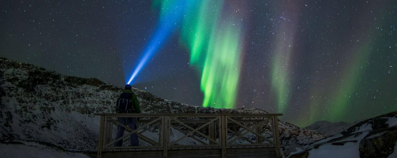 Nuuk autumn northern lights - Photo by Mads Pihl - Visit Greenland