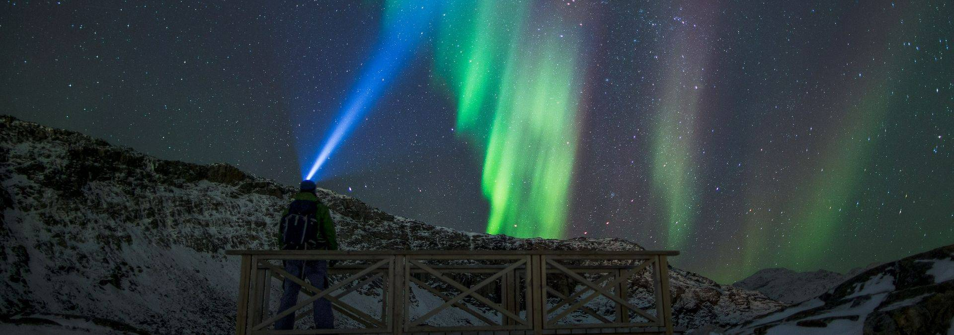 Nuuk autumn northern lights - Photo by Mads Pihl - Visit Greenland