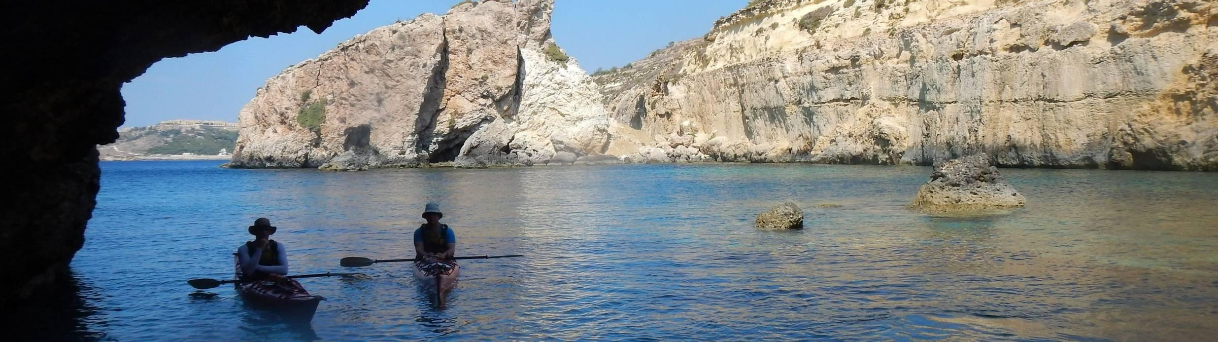 Gozo - Dawn Gibson 30 Jul 13 - kayaking.jpg