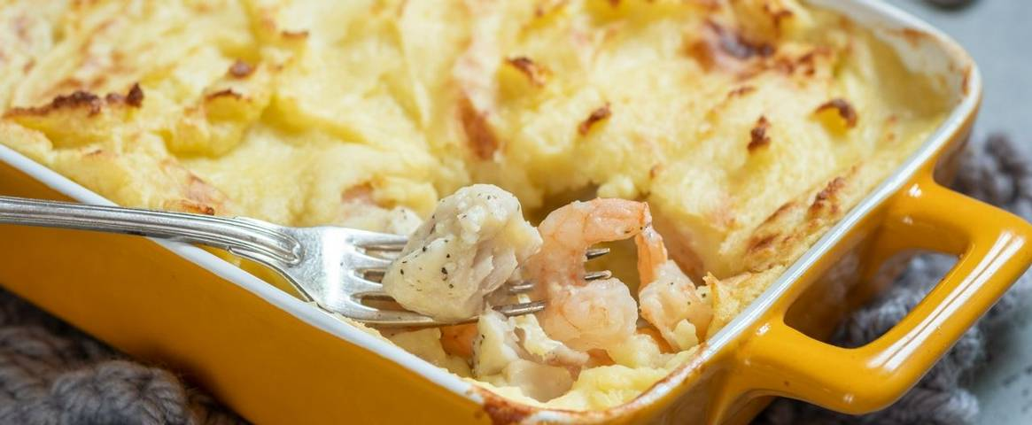 Catch of the Day Fish Pie
