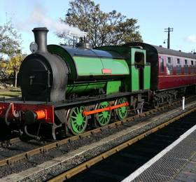 Sheringham visit and Poppy Line train