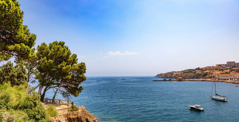 French Catalonia guided walking holiday