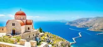 Corfu   Remote Church Sits Atop Cliff   Itinerary Desktop