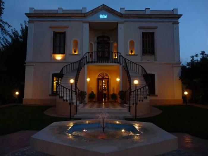 Halepa hotel by night