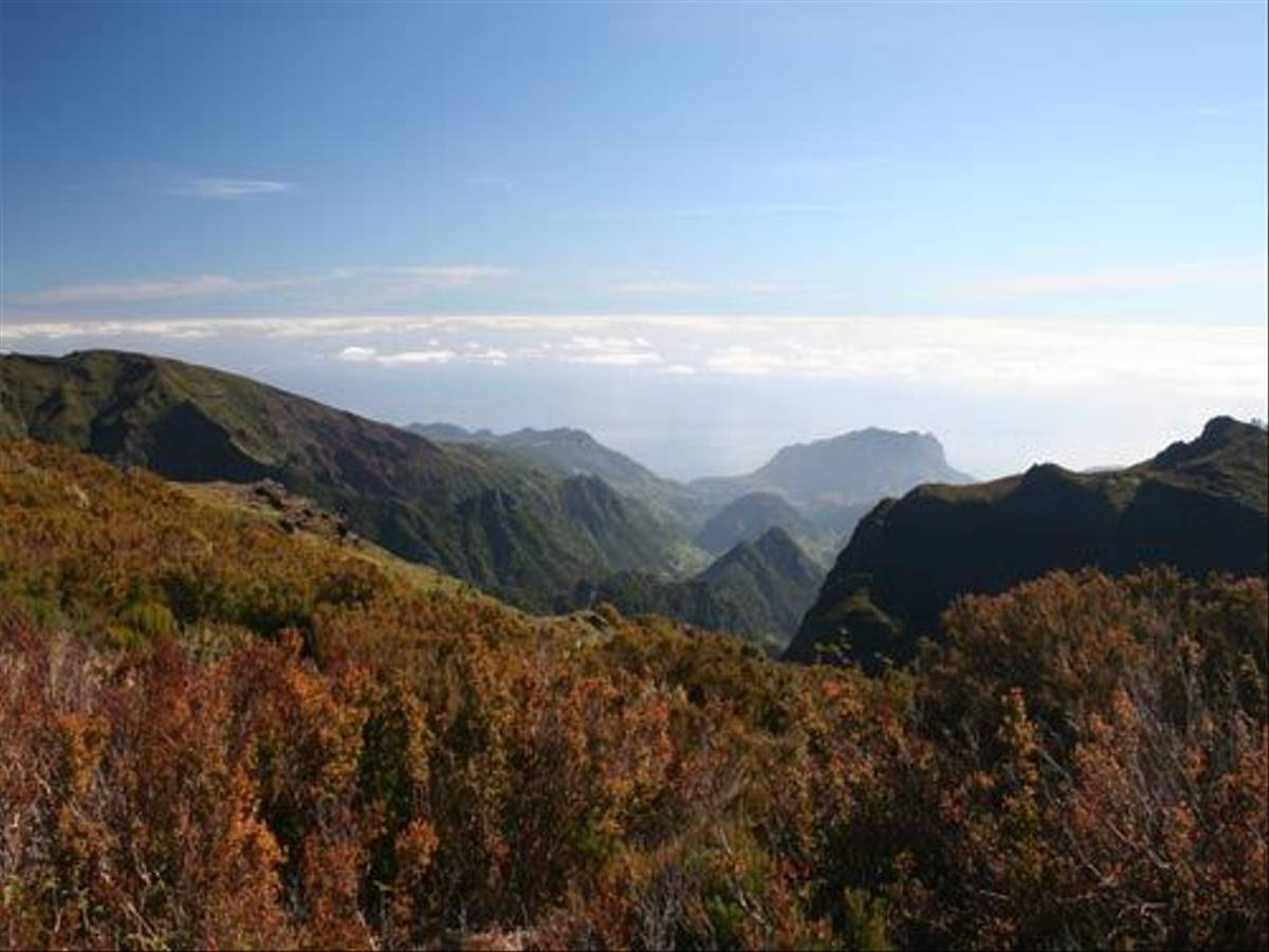 View from Pico Arieiro