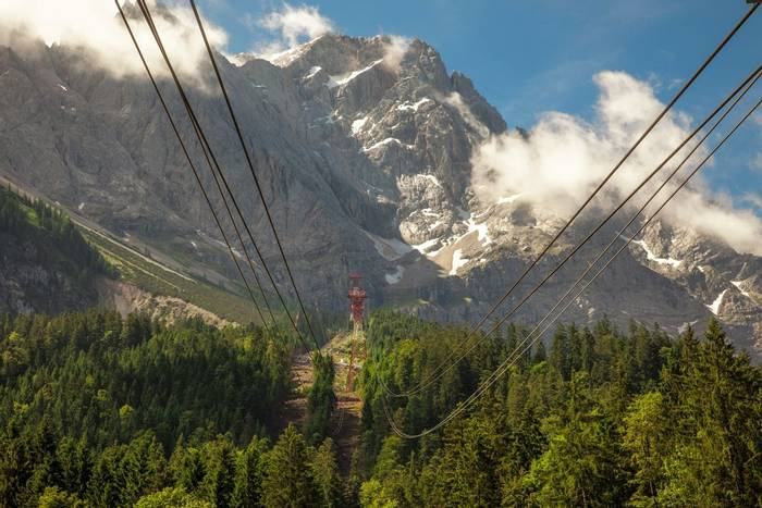 Cable car ride up to Zugspitze, Germany shutterstock_512190772.jpg