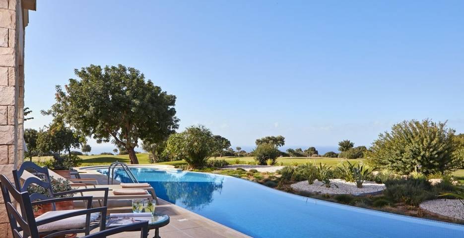 Aphrodite Hills, Cyprus, spa outdoor pool