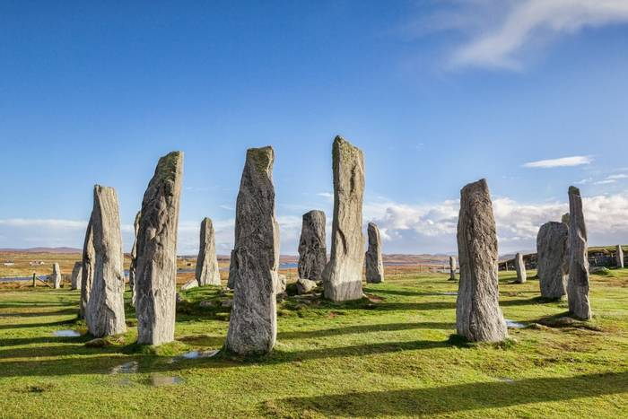 Stone circle at Callanish, Isle of Lewis,  Outer Hebrides, Scotland shutterstock_1203086257.jpg