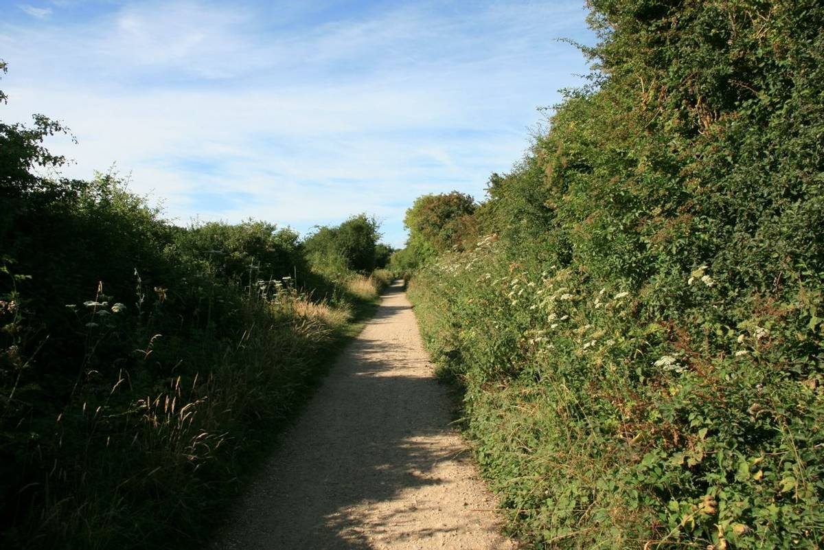 Hayling Billy Line Path.JPG