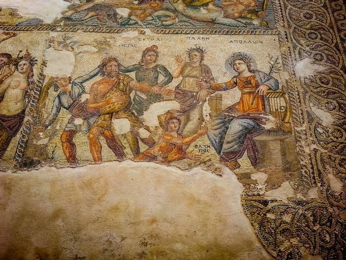 Paphos Mosaic, Cyprus Shutterstock 784523455