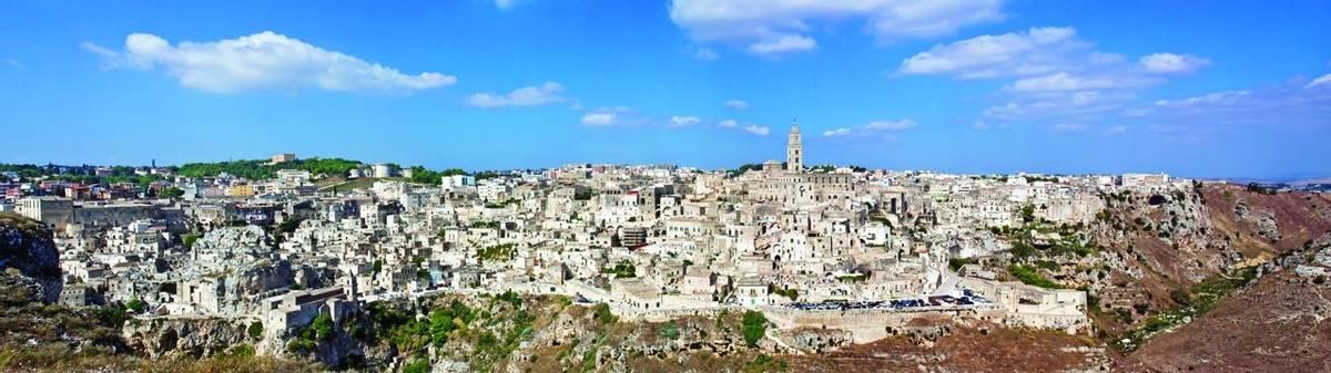Matera, panoramic view
