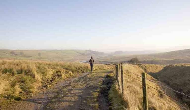 The Lancashire moors, Tockholes road, Bolton
