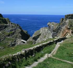 Tintagel Castle and Padstow