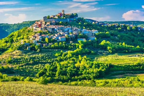 Motovun, Istria, Croatia Shutterstock 1108854011