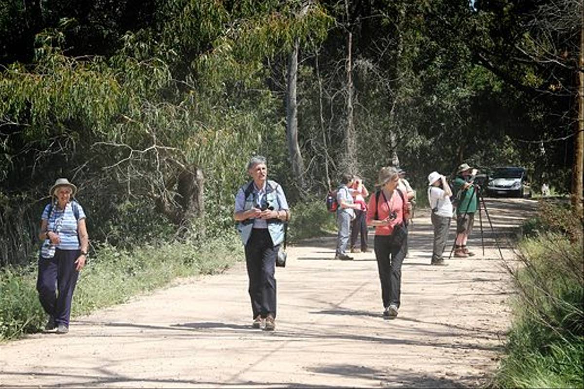Naturetrek clients on a walk (Ken Williams)