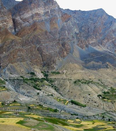 Zangla village (3,300m)