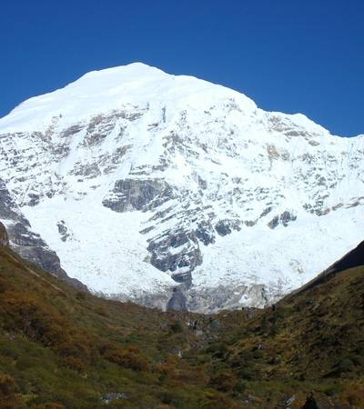 Mount Chomolhari at 7,326m