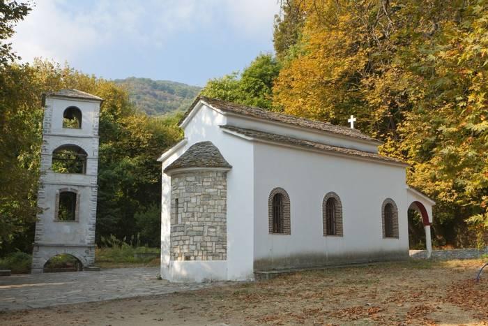 traditional church at Tsagarada of Pelion in Greece shutterstock_85189900.jpg