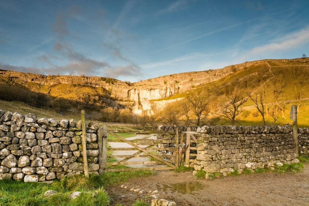 Gateway to Malham Cove