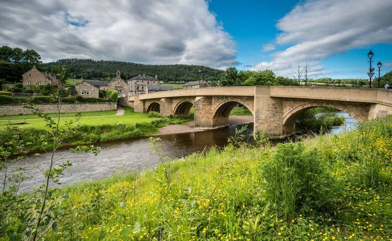 Road bridge at Rothbury