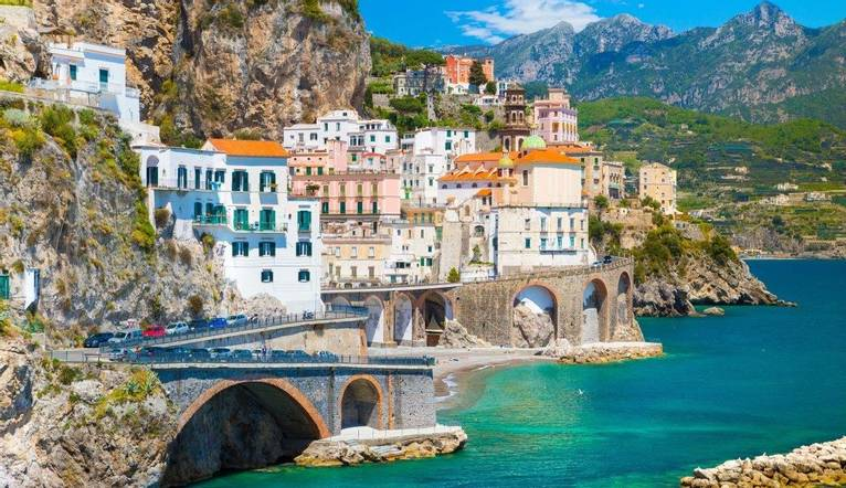 Morning view of Amalfi cityscape, Amalfi, Campania, Italy .jpg