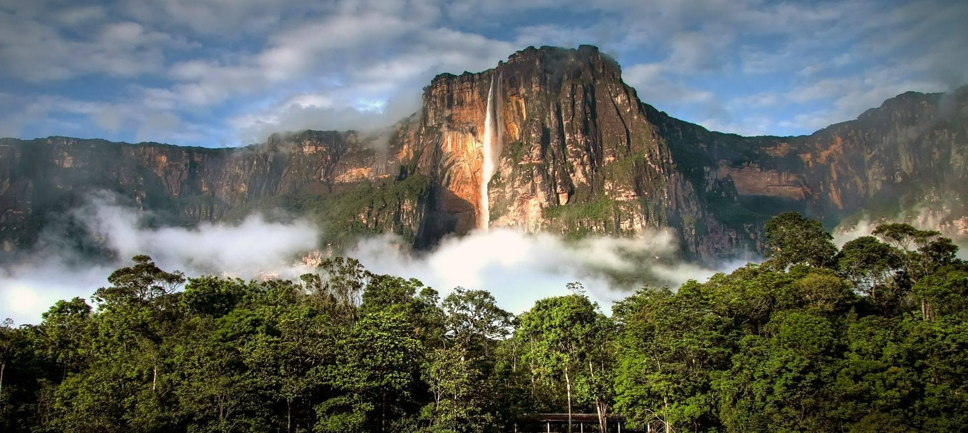 Venezuela Angel Falls Shutterstock 141881491