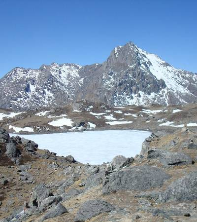 View from Laurebina La (4,700m)