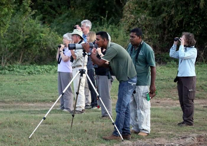 Birdwatching with Naturetrek Guide (Karen Malte Nielsen)