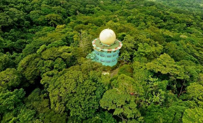 Canopy Tower Eco Lodge. Soberania National Park. Panama.