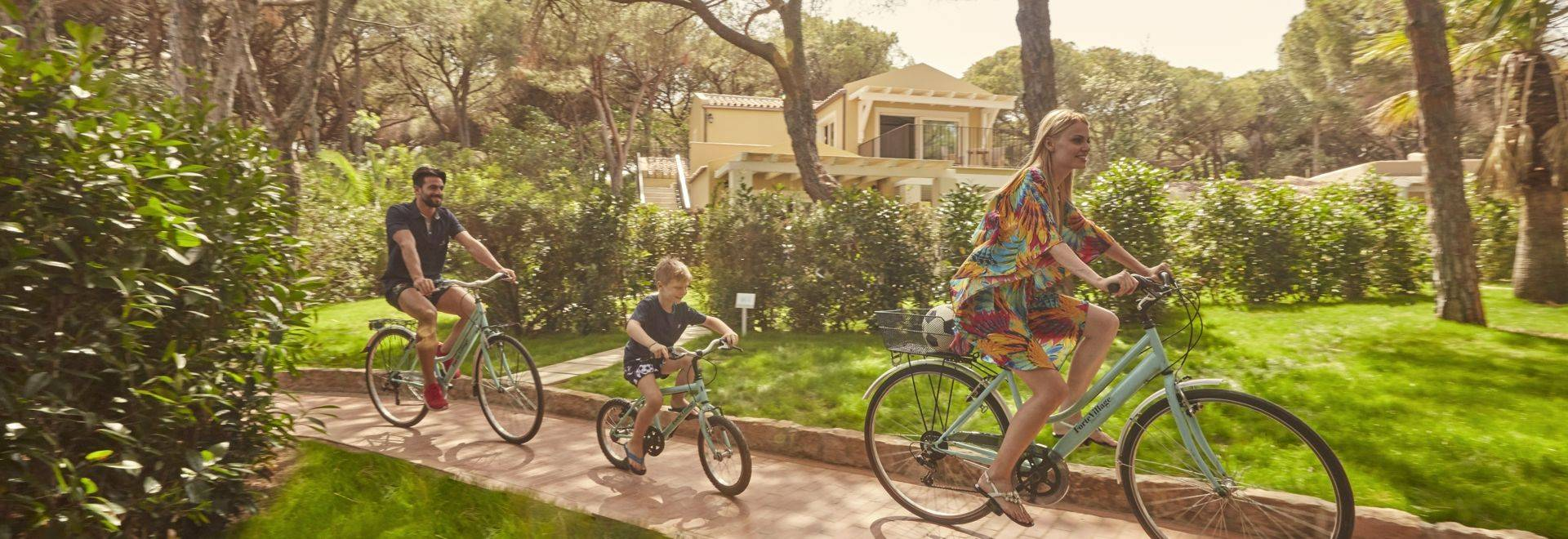 Forte Village Cycling Family