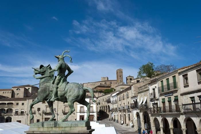 Francisco Pizarro, Trujillo, Caceres, Spain shutterstock_107909384.jpg