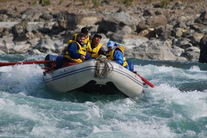 Rafting on the Seti River (Thomas Mills)
